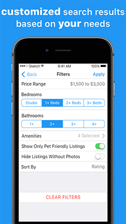 ApartmentRatings App